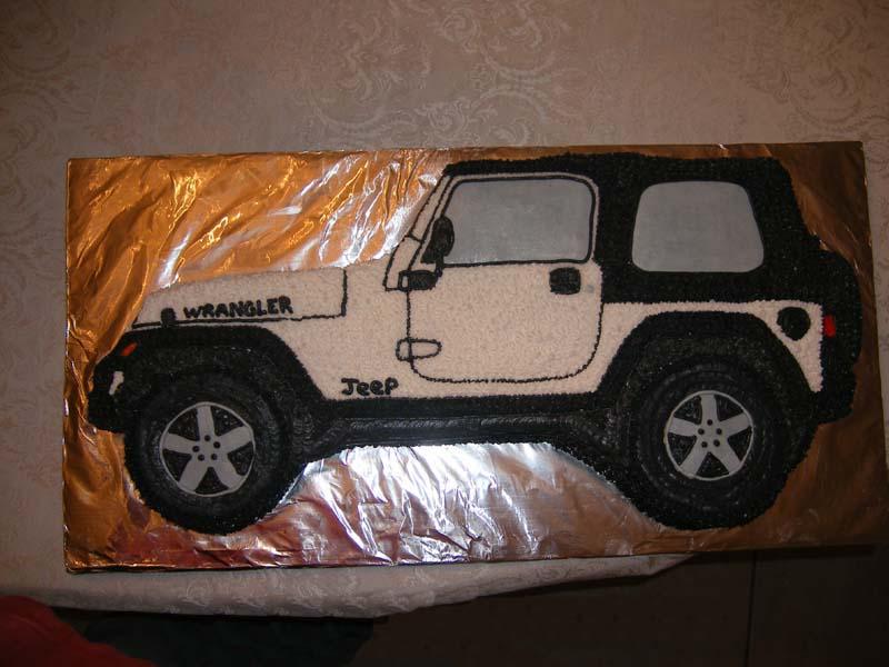 Jeep Birthday Cake Images : Jeep Shaped Birthday Cake ~ Image Inspiration of Cake and ...